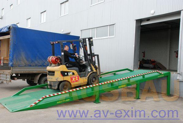 yeni AUSBAU AUSBAU-ST Fixed ramp , Stacionarnaya rampa , Dock ramp , laadbrug seyyar rampa