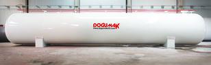 yeni DOĞUMAK LPG STORAGE 125 M3 WHIT ASME DIV2 SEC.8 gaz tankeri römork