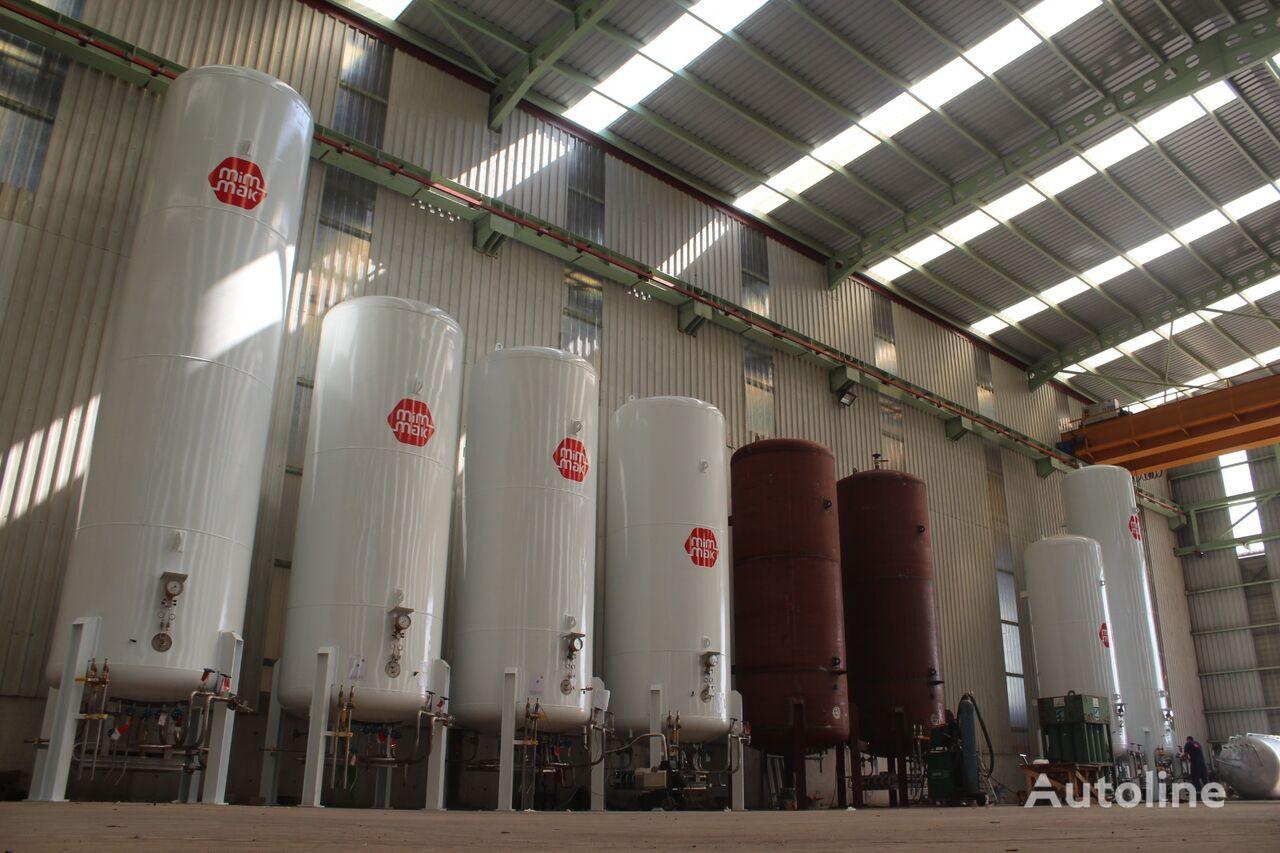 yeni MIM-MAK MİM-MAK LIN - LOX - LAR  STORAGE TANK - 0,5 m³ / 250 m³  gaz tankeri römork