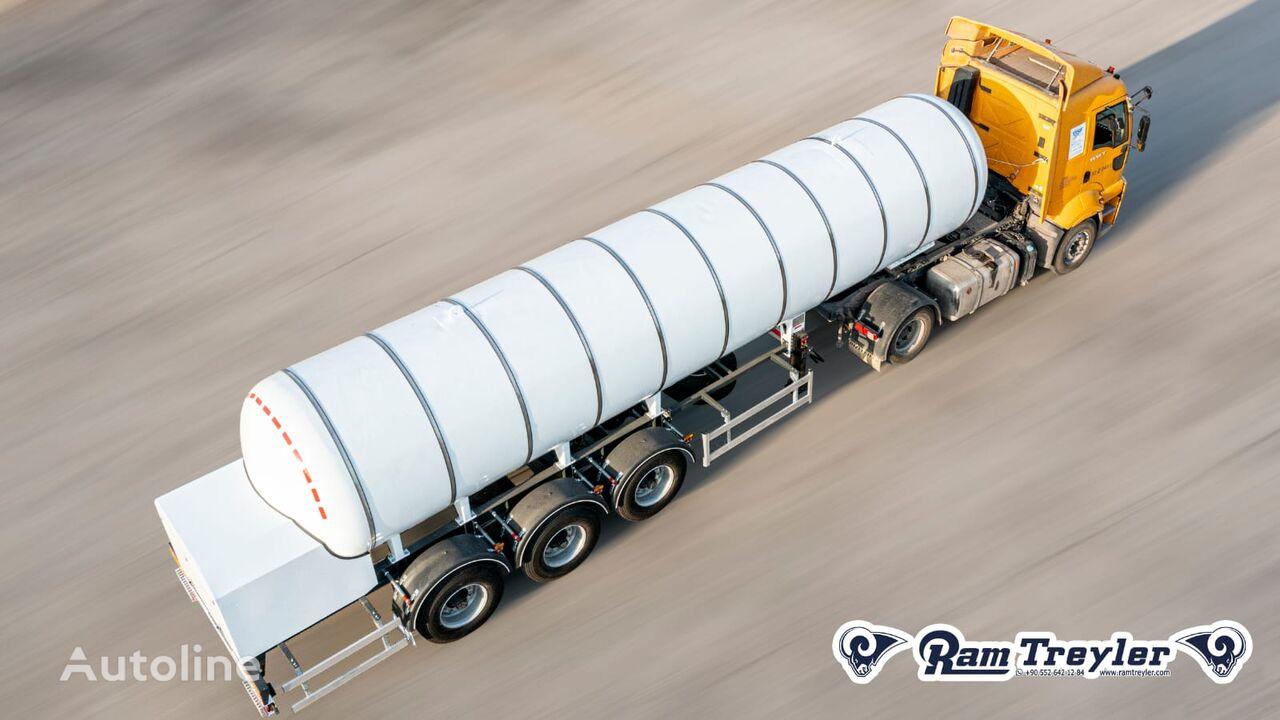 yeni Ram Treyler CO2 TANK SEMI TRAILER gaz tankeri römork