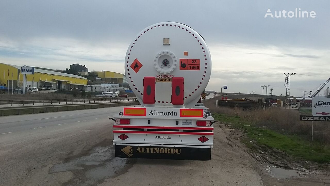 yeni ALTINORDU LPG TANK TRAILER , 12 TYERS gaz tankeri römork