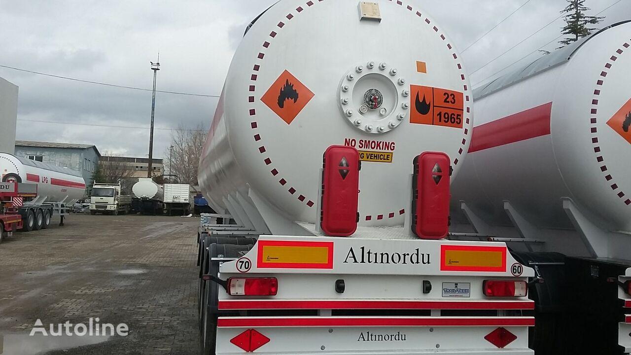 yeni ALTINORDU PRODUCER SINCE 1972,3 AXLE 12 TYERS 60 M3 LPG ROAD TANKER gaz tankeri römork