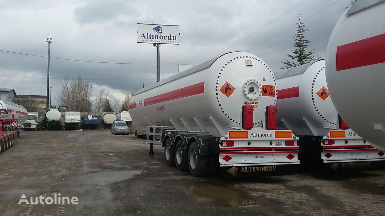 yeni ALTINORDU PRODUCER SINCE 1972, 3 axle 60 m3 12 tyers LPG transport tanker gaz tankeri römork