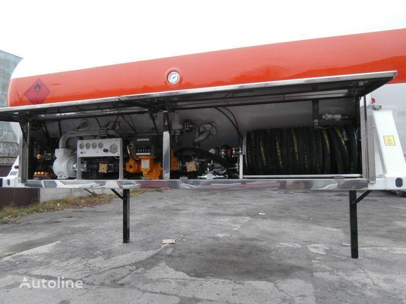 BC LDS smennoe shassi gaz tankeri römork