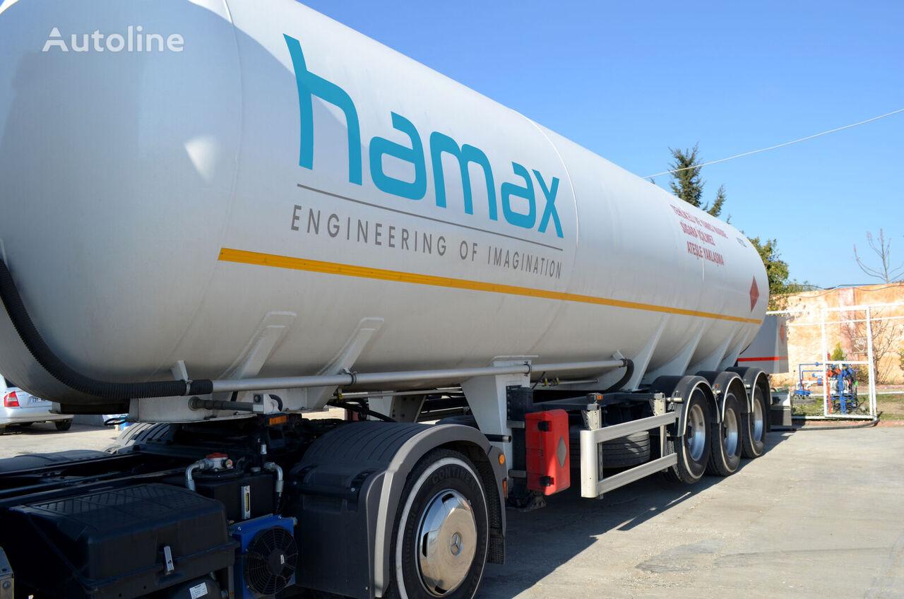 yeni HAMAX TRS45 LPG 45m3 TRAILER gaz tankeri römork