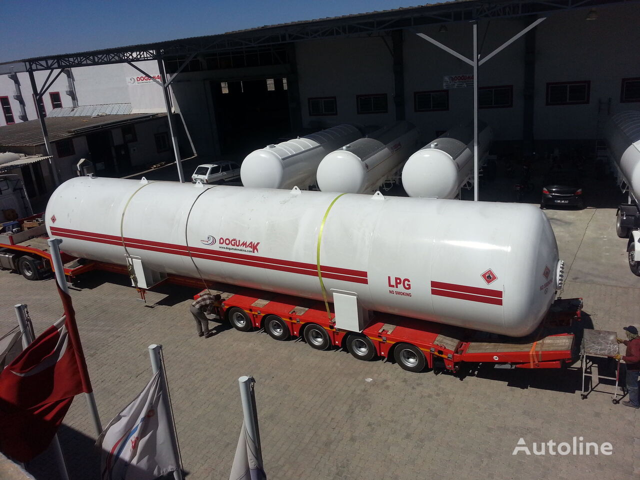 yeni DOĞUMAK INDUSTRIAL LPG STORAGE TANKS gaz tankeri
