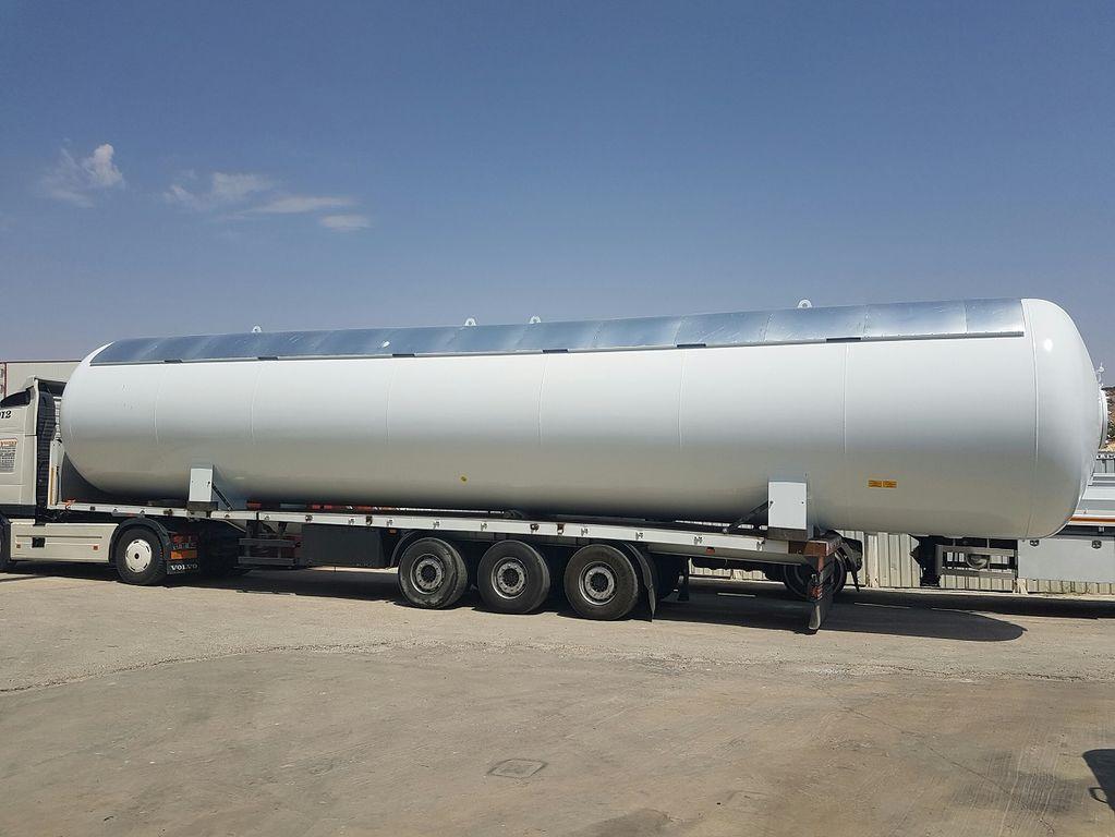 yeni YILTEKS LPG Storage Tank gaz tankeri