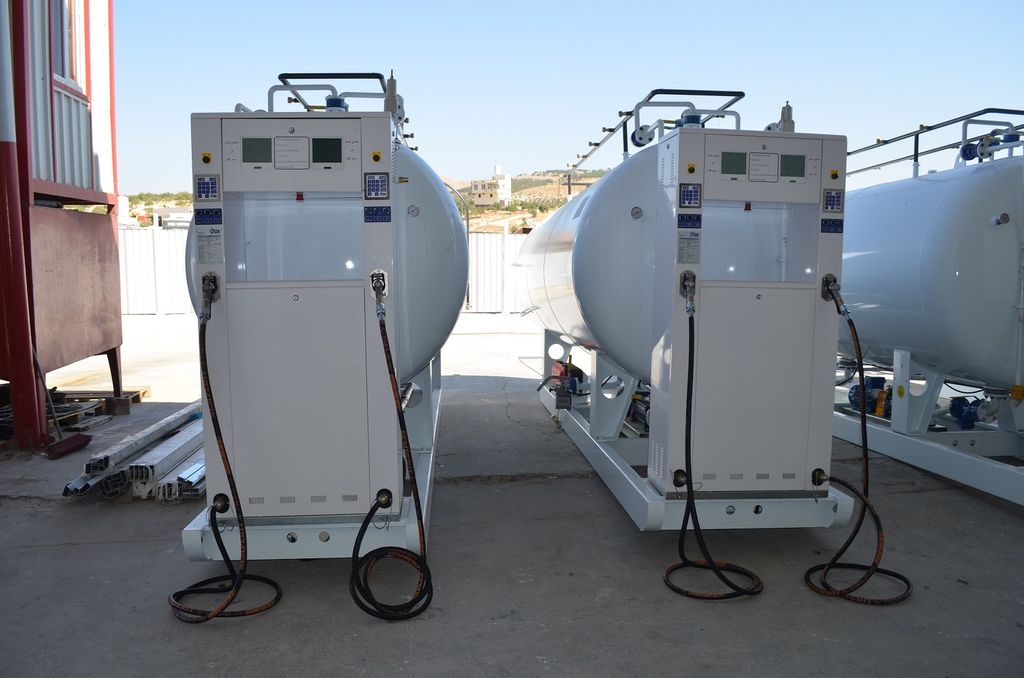 yeni YILTEKS LPG skid Tank gaz tankeri