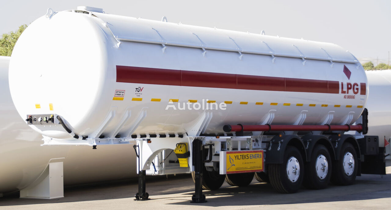 yeni YILTEKS Semi - Trailer LPG  gaz tankeri