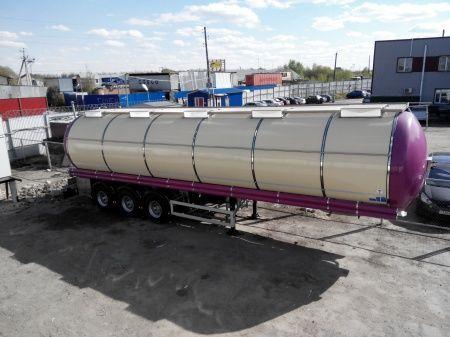 FELDBINDER (ID-4095) polupricep cisterna pishchevaya gıda tankeri