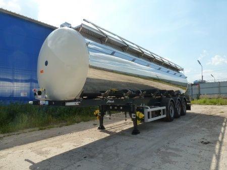 yeni SANTI SANTI-MENCI (ID-) pishchevaya cisterna s PAROPODOGREVOM SANTI-MENCI gıda tankeri