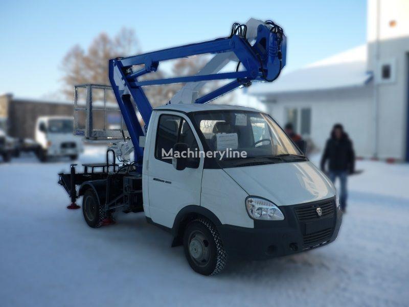 GAZ VIPO-12-01 na bazovom shassi  GAZ-3302 Gazel araç üstü eklemli