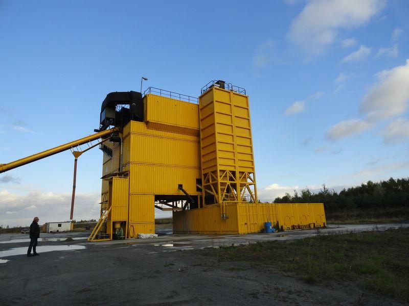 LINTEC CSD 3000 asfalt fabrikası