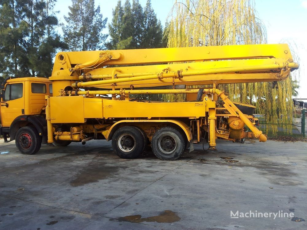 MERCEDES-BENZ 1992, SCHWING 32XL beton pompası