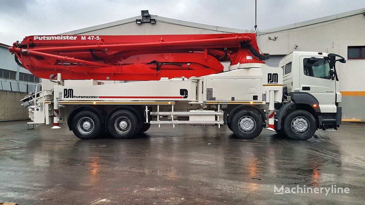 MERCEDES-BENZ Axor 4140 8x4 - Putzmeister 47 Meter  beton pompası