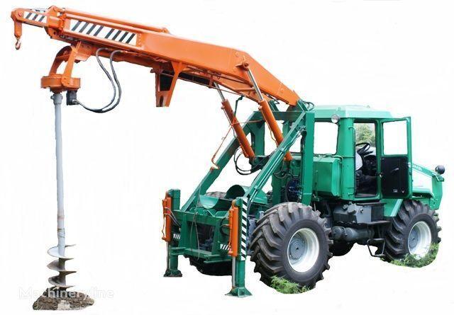 HTZ Burilno-kranovaya mashina BKM-3U na baze traktorov HTZ 150K-09, H diğer