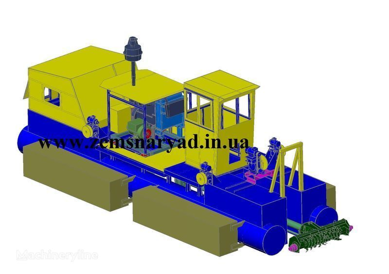 yeni NSS Zemsnaryad NSS 300/30-F emiş ekskavatör