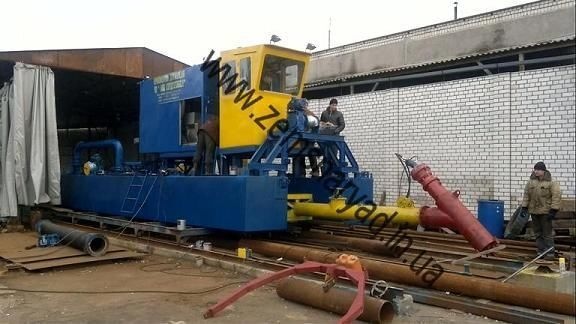 yeni NSS Zemsnaryad NSS 400/20-F emiş ekskavatör