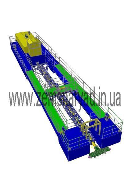 yeni NSS Zemsnaryad NSS 400/20-F-K emiş ekskavatör