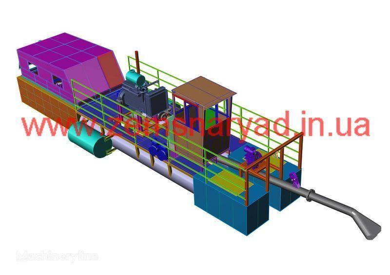 yeni NSS Zemsnaryad NSS 400/20-GR emiş ekskavatör