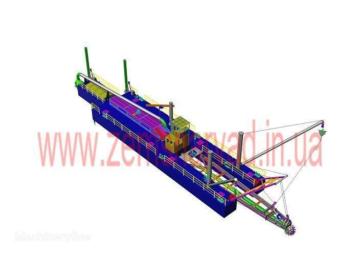yeni NSS Zemsnaryad NSS 6000/70-F emiş ekskavatör