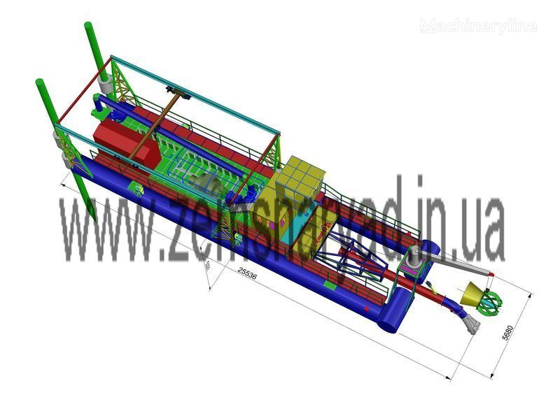 NSS Zemsnaryad NSS 6000/70-F-GR-E emiş ekskavatör