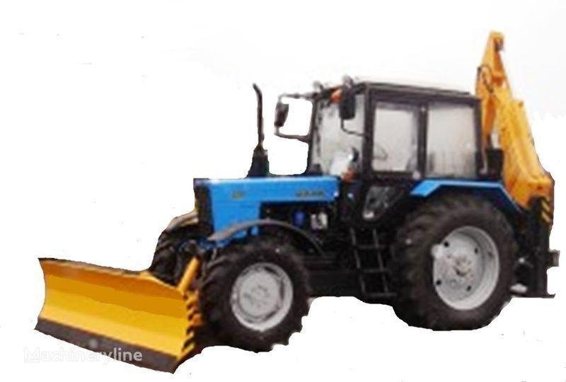 MTZ Ekskavator-buldozer BAM-2012 iş makinesi