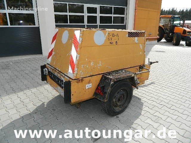 Jenbacher JW223 auf Anhänger kompresör