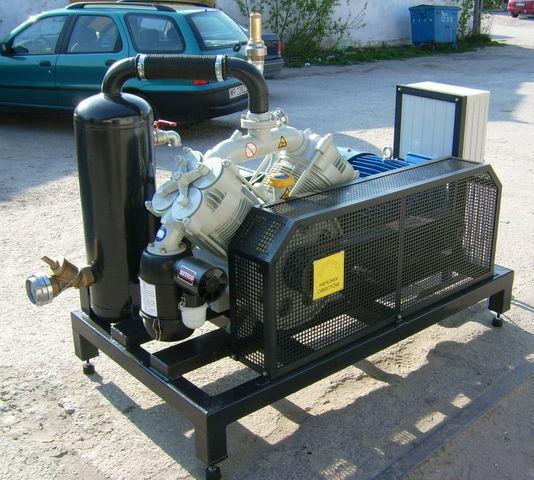 SB1 BETICO z silnikiem elektrycznym kompresör