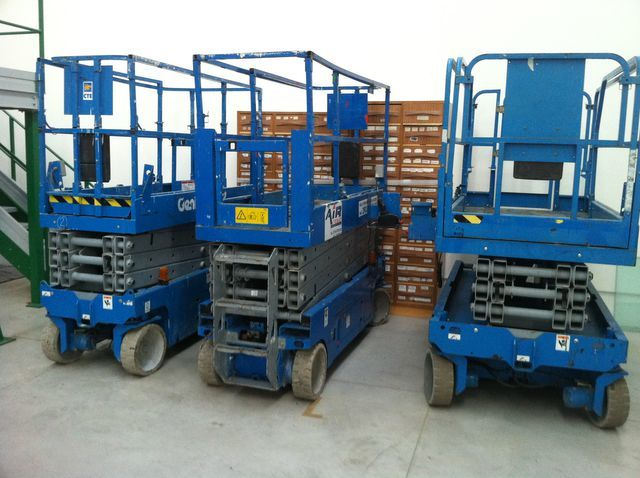 GENIE GS1932-2032-2632-2646-3246 makasli platform