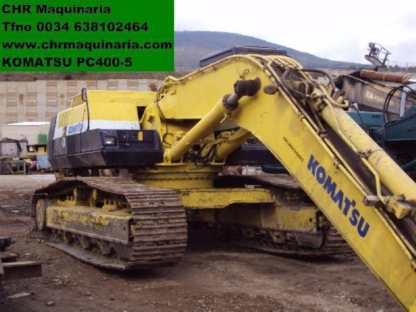 KOMATSU PC400-5 paletli ekskavatör