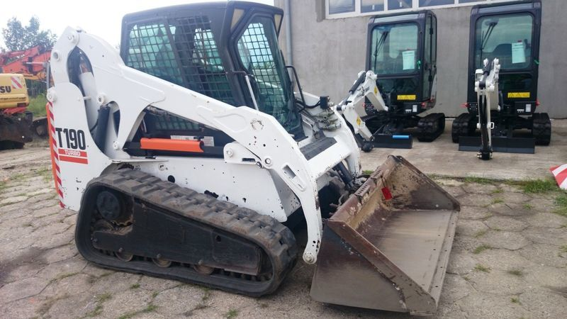 BOBCAT T190 High Flow paletli mini yükleyici
