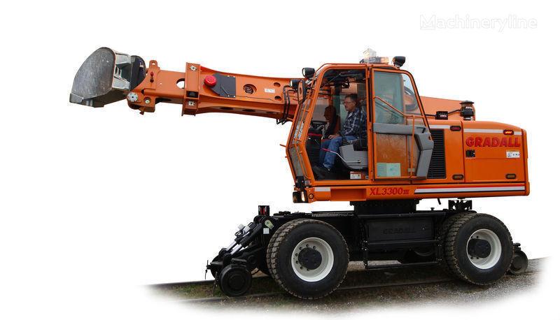 yeni GRADALL XL 3300 ray ekskavatör