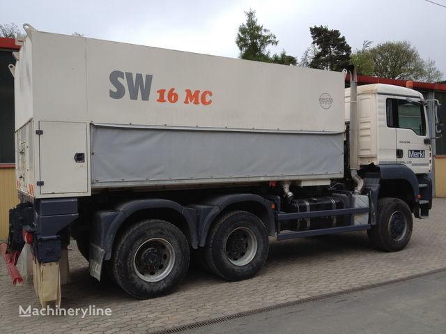 WIRTGEN Spreader Streumaster SW 16 MC rehabilitasyon makinesi