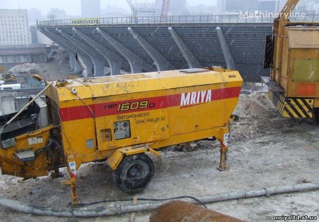 MRIYA PRODAZhA stacionarnogo betononasosa