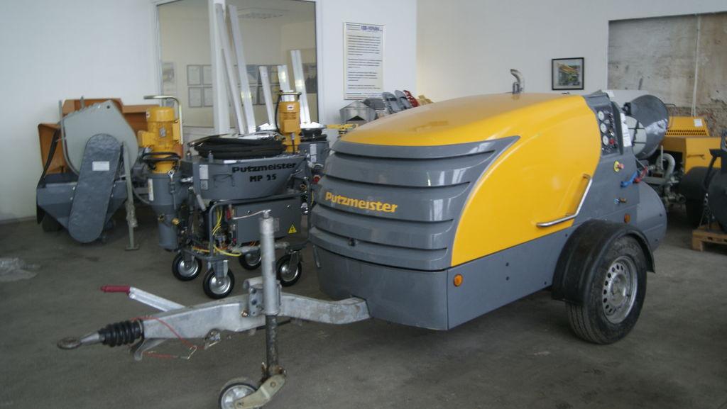 PUTZMEISTER M 740 D sabit beton pompası