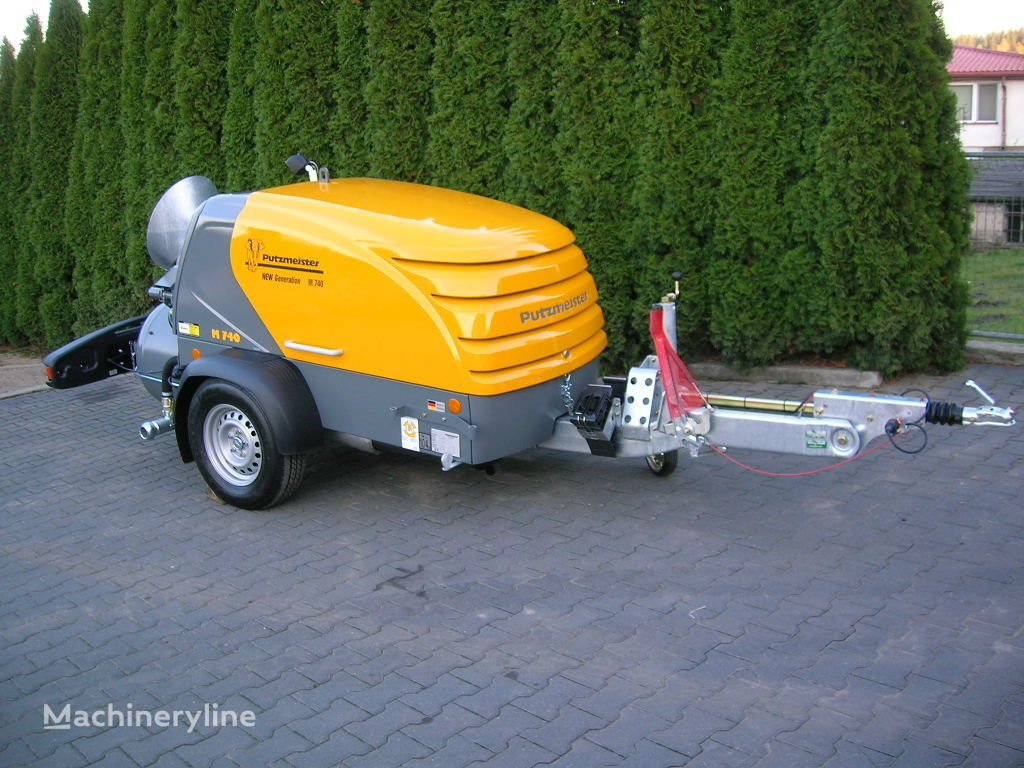 yeni PUTZMEISTER M740/4 NEW GENERATION sabit beton pompası
