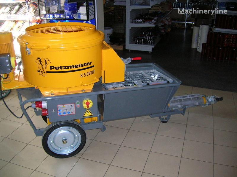 yeni PUTZMEISTER S5 EV/TM sabit beton pompası