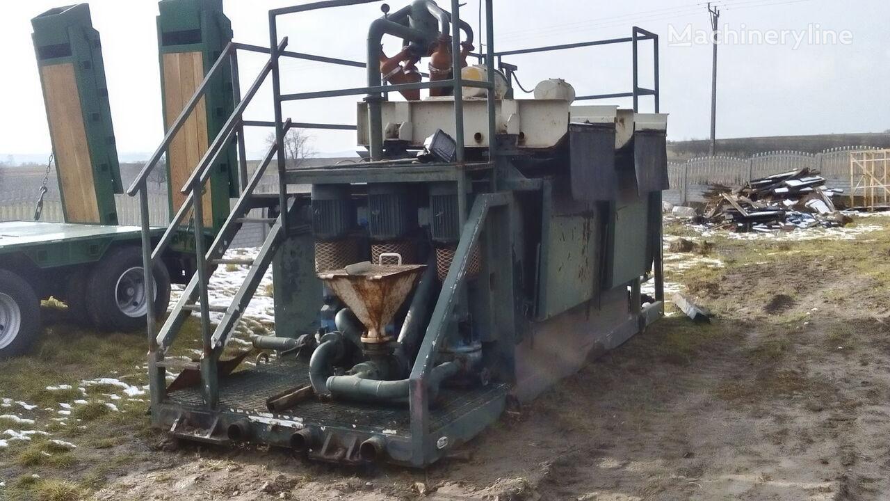 VERMEER  Mud recycling unit Basic Fabrication MCS 260 sondaj kulesi