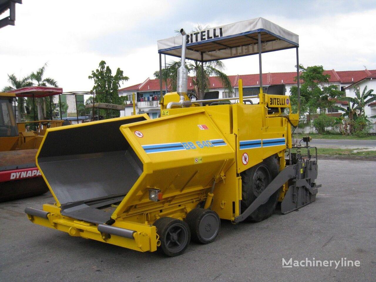 BITELLI BB 640 tekerlekli asfalt finişer