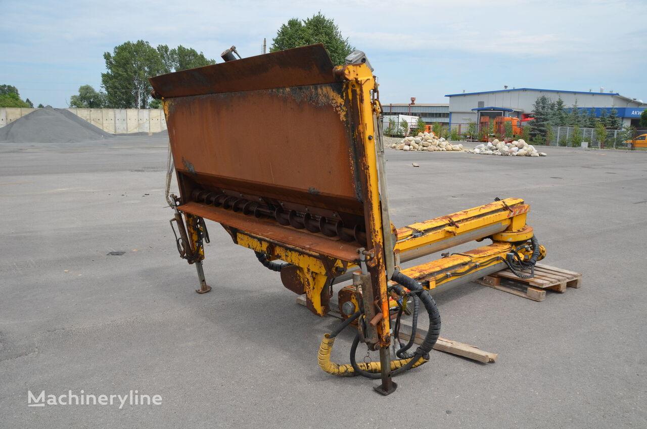 SPRIDER M-25 tekerlekli asfalt finişer