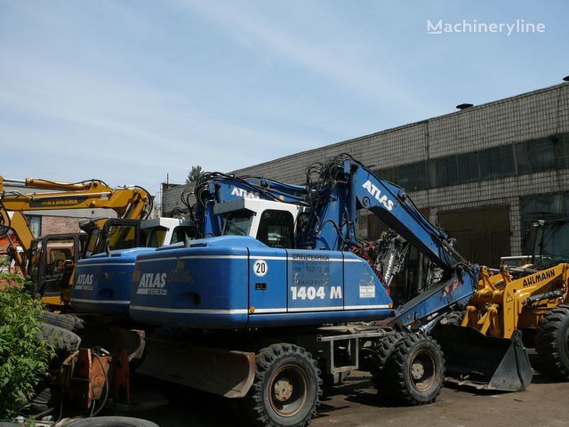 ATLAS 1404 tekerlekli ekskavatör