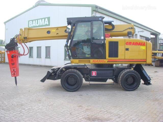 GRADALL XL 4300 tekerlekli ekskavatör