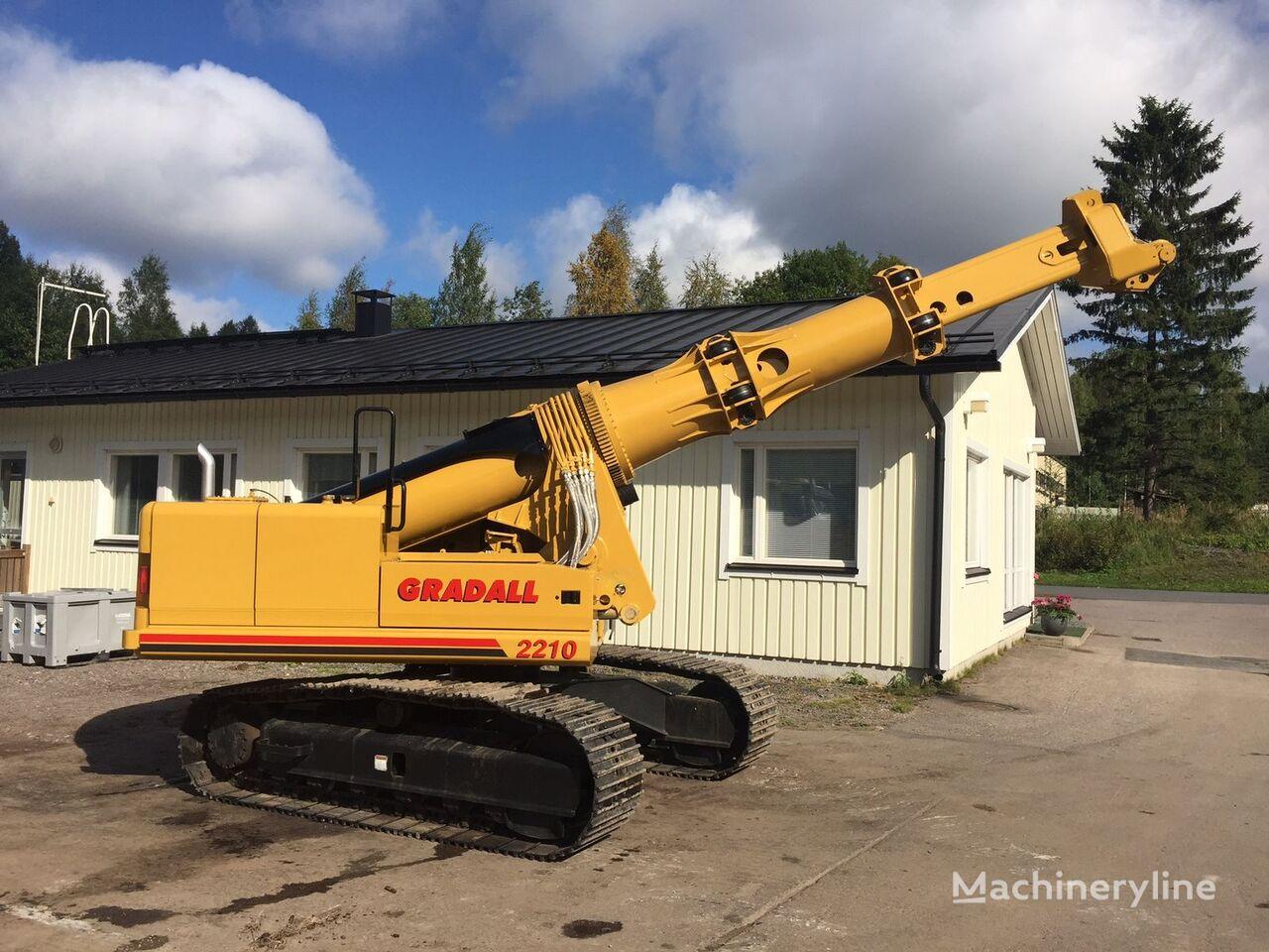 GRADALL XL2210 teleskopik bomlu ekskavatör