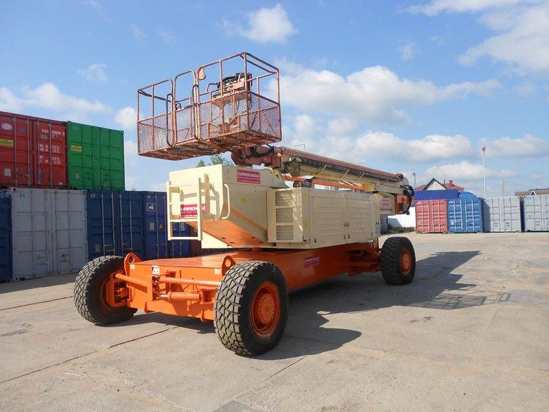 JLG 150HAX, Diesel, 4x4, 47.7m teleskopik platform