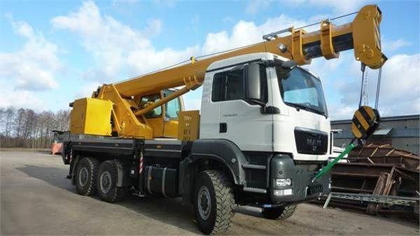 yeni HCT 30 vinçli kamyon