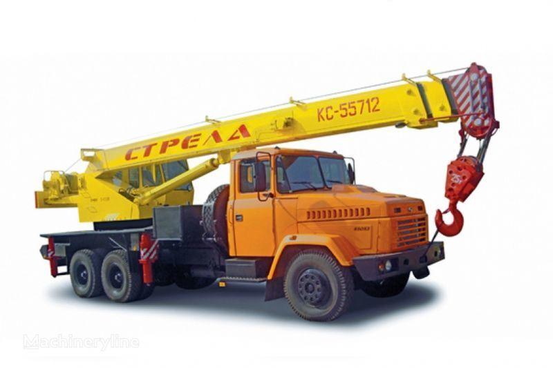 KRAZ 65053 (KTA-25) i KrAZ-63221 (KTA-25)  vinçli kamyon