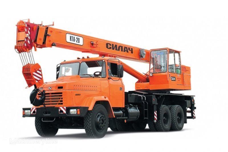 KRAZ 65053 (KTA-28)  vinçli kamyon
