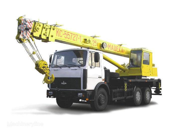 MAZ şaside KS 55727-1, 7 vinçli kamyon