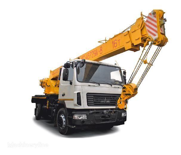 MAZ şaside KS -45729A-0, 4, 8 vinçli kamyon